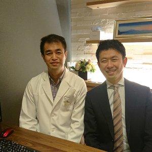 アライン社CEOとインビザラインの製造メーカーであるアラインテクノロジー社 日本法人のCEOが当院へお越しくださいました。