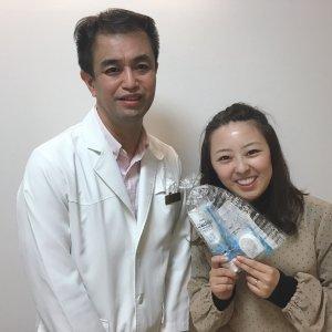 院長と一緒に☆矯正治療後の素敵な笑顔で!